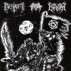 Besatt / Evilwar / Infernal Kingdom - United By The Black Flag