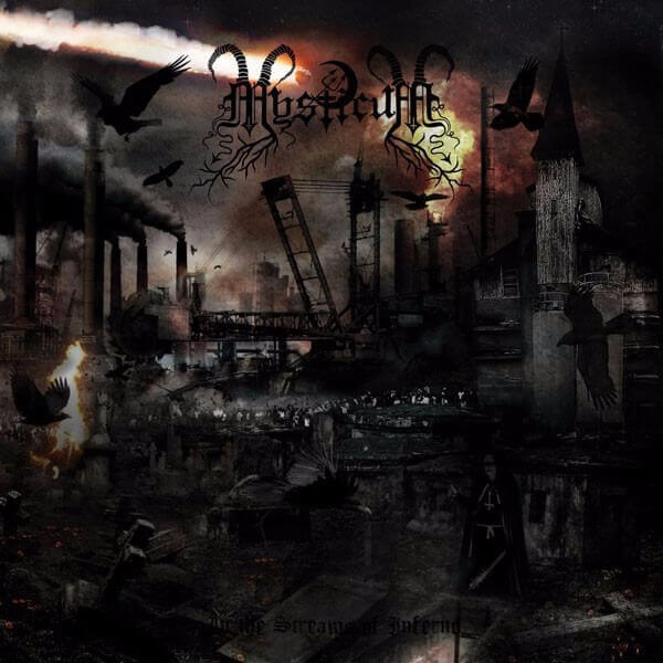Mysticum - In the Streams of Inferno (Opaque White LP)