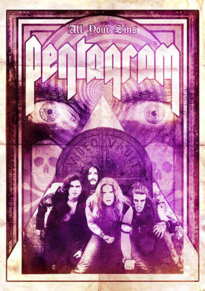 Pentagram - All Your Sins: Video Vault (A5 Digipack DVD)